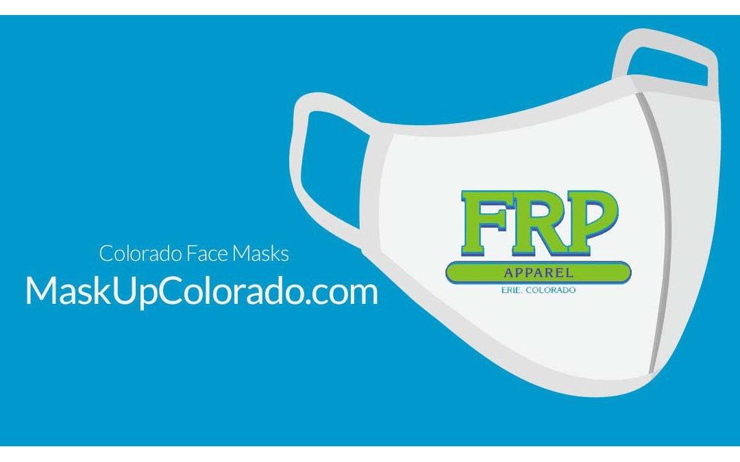 FRP Apparel launches new website MaskUpColorado.com
